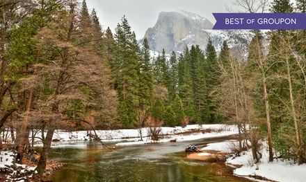 groupon daily deal - 2-Night Stay for Two in a River-View Room and Spa-and-Food Package at Yosemite View Lodge near Yosemite National Park