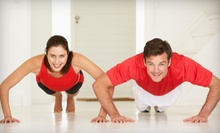 5 or 10 Barefoot Boot-Camp Sessions at FitMania (Up to 76% Off)