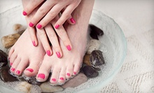 One or Three Shellac Manicures with Spa Pedicures at Blown Away Salon &amp; Spa (Up to 59% Off)