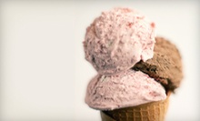 Ice Cream and Milkshakes at Little Scoops (Up to 52% Off). Two Options Available.