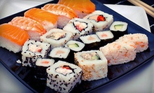 Sushi and Japanese Food for Two or Four at Hop On Sushi (Half Off)