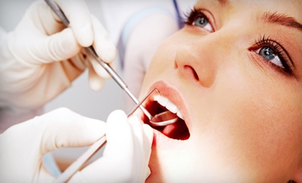 $49 for Dental Cleaning with Exam, X-rays, and Take-Home Whitening Kit at Landmark Dental ($488 Value)