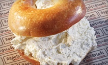 One or Two Baker's Dozens of Bagels at Bagels 'n Grinds (54% Off)