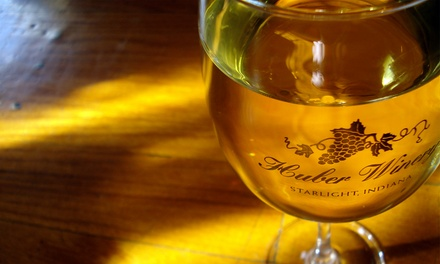 Winery Tour Package for Four or Eight at Huber's Orchard & Winery (Up to 72% Off)
