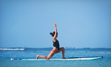 $20 for a Standup Paddleboard Yoga Class at Salt Yoga ($40 Value)