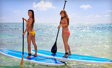 60-Minute Standup-Paddleboard Rentals for Two, or Five Rentals from Fairfield Board Company (Half Off)