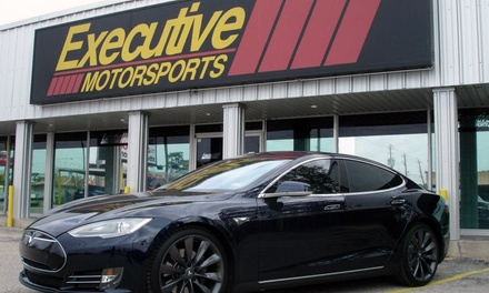 Full-Car Window Tinting for 5 Windows or Full-SUV Window Tinting for 7 Windows at Executive Motorsports (48% Off)