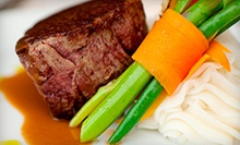 Steak-House Meal for Two or Four at Christie's Steakhouse (Up to 58% Off)