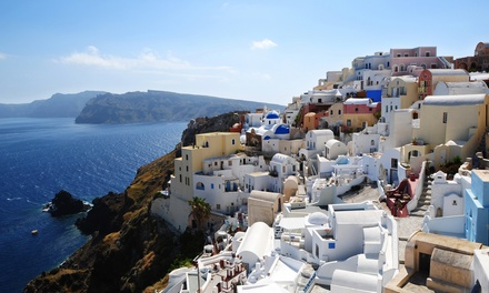 groupon daily deal - ✈ 11-Day Athens and Greek Islands Vacation with Airfare from Keytours Vacations; Price/Person Based on Double Occupancy