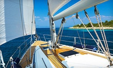 Two-Hour Private Sailboat Tour for Two or a Four-Hour Sailing Lesson for One from Seaforth Boat Rentals (Half Off)