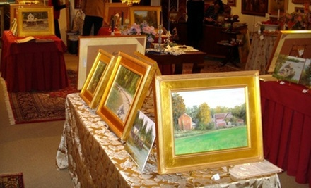 $40 for $100 Worth of Framing, Appraisals, and Restoration at J.J. Gillespie Gallery
