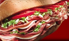 $15 for Three $10 Vouchers at Tubbys Grilled Submarines ($30 Value)