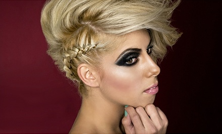 One, Two, or Three Makeup and Hair Lessons or a Makeup Party at Blush Lounge (Up to 84% Off)