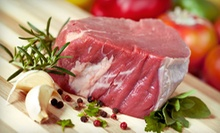 $15 for $30 Worth of Meats and Seafood at B & E Meats and Seafood