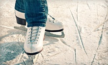 $10 for Ice Skating for Two with Skate Rentals at the Winterhawks Skating Center (Up to $20 Value)