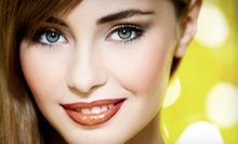 Permanent Makeup for Eyebrows or Upper or Lower Eyelids at Nail and Skin Day Spa (Up to 67% Off)