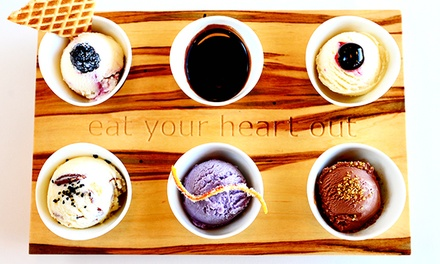 Two Ice-Cream Flights or One Ice-Cream Flight and One Pint of Ice Cream at High Point Creamery (44% Off)