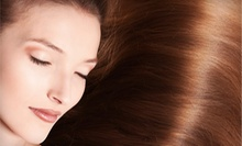 Women's Haircut with Full Color, Retouch, or Partial Highlights at Artricia Balenci Salon and Spa (Up to 55% Off)