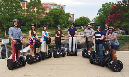 $84 for a Two-Hour Segway Tour for Two from Greenville Glides ($140 Value)