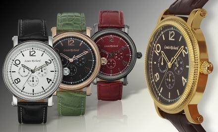 Louis Richard Pembridge Collection Multifunction Men's Watch
