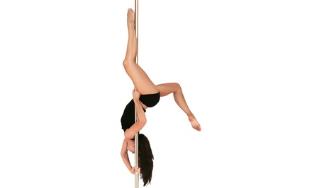 One Beginner Pole-Dancing Class, One-Month Membership, or Pole-Dancing Party at Corporate Pole (Up to 55% Off)