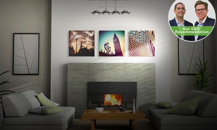 Printstagram: 300mm x 300mm Personalised Canvas Prints by Printstagram from R99 (Up to 70% Off)