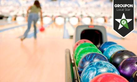 Bowling House — 6 localizações: duas partidas de bowling para duas ou quatro pessoas desde 4,90 €