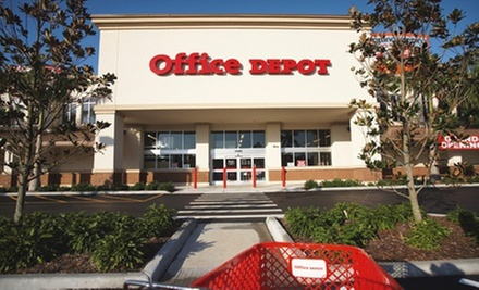Groupon - $20 for $10 at Office Depot
