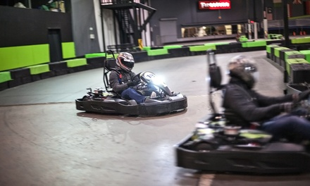 Fun and Games Package for One, Two, or Four at Andretti Indoor Karting & Games (Up to 52% Off)