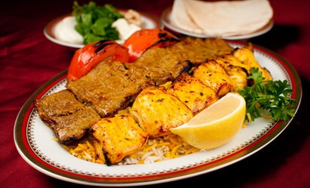 Persian Dinner for Two or $7 for $15 Worth of Persian Fare at Shandeez Grill Restaurant