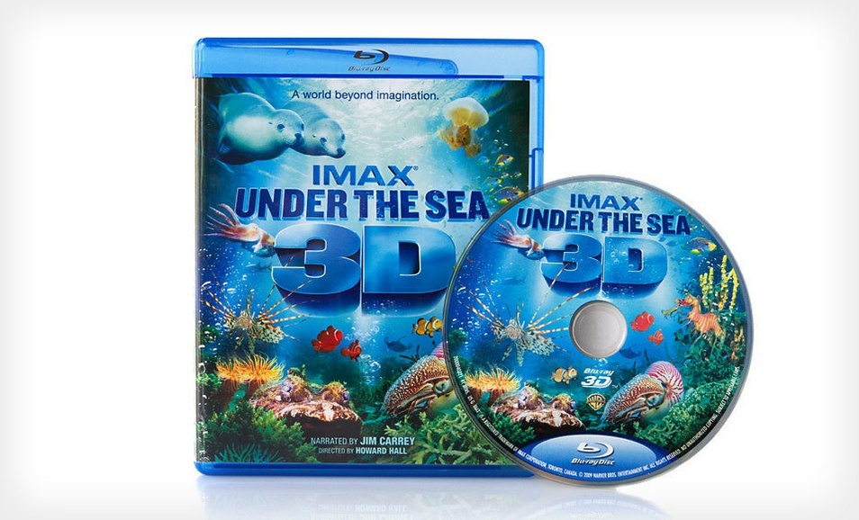 For Imax Under The Sea 3d Blu Ray Movie Groupon