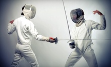 One, Three, or Five Beginning Fencing Classes at Salle d'Etroit Fencing Academy (Up to 56% Off)
