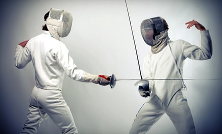 One, Three, or Five Beginning Fencing Classes at Salle dEtroit Fencing Academy (Up to 56% Off)