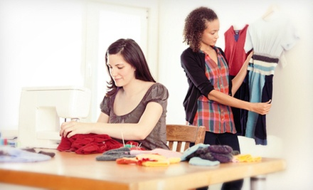 Two Sewing Classes for One or Two or a Private Sewing Class for Six at Winnie's Fashion Design (Up to 84% Off)