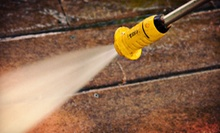 Exterior Power Washing for a 2,500 or 5,000 Sq. Ft. House from All Seasons Gutter Services (Up to 70% Off)