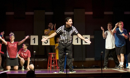 ComedySportz Improv Show with Popcorn and Glow Sticks for Two or Four Through December 27 (Up to 57% Off)