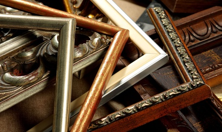 $20 for $40 Worth of Ready-Made Frames, Custom Framing, and Framing Supplies at Cheap Pete's