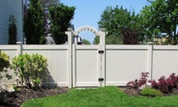GROUPON: 52% Off Vinyl Fencing National Metal Industries