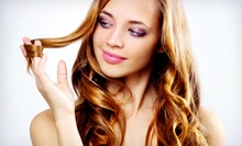 Haircut and Conditioning with Optional Color or Partial or Full Highlights at Prestige Salon & Spa (Up to 62% Off)