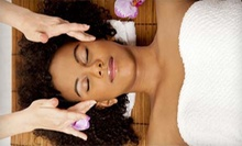 Choice of a One-Hour Massage or a Custom Facial, or Both at Salon Rhapsody (Up to 53% Off)