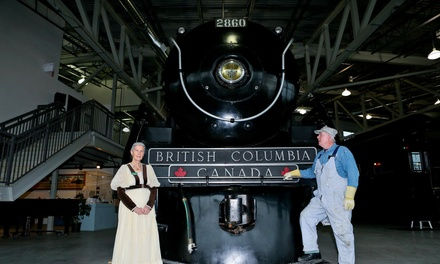 Train Museum Visit for Two or Four from West Coast Railway Association (Up to 52% Off)