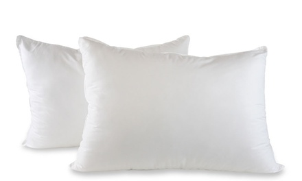 2-Pack Jumbo Size Down Alternative Pillows