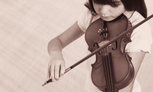 Two or Four Music Lessons at Falls Church Music Conservatory (Up to 55% Off)