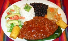 Mexican and Tex-Mex Food for Two or Four at Molcas Mexican Restaurant (Up to 53% Off)