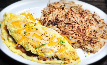 Brunch and Beverages for Two or Four at Melody Bar and Grill (Half Off)