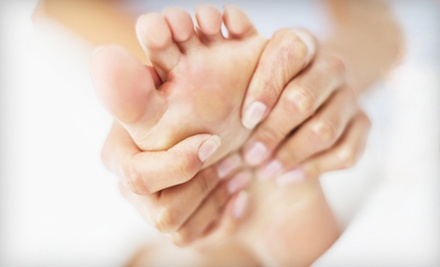 One or Two 60-Minute Reflexology Treatments at The Barefoot Zone in Randolph (Up to 54% Off)