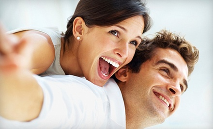 Zoom! Teeth-Whitening Treatment or Dental Exam with X-rays and Cleaning at Davidson Dental Group (Up to 86% Off)