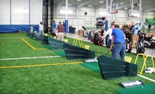 5 or 10 Buckets of Indoor-Driving-Range Balls at Fore Kicks Golf Course & Sports Complexes (Up to 55% Off)