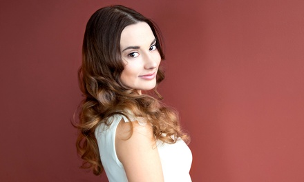 $55 for a Haircut and Partial Highlights at All About Glamour Beauty Salon ($130 Value)
