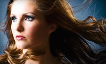 Cut with Optional Partial or Full Highlights or Color from Kathleen Corbett at Aura Day Spa & Salon (Up to 71% Off)